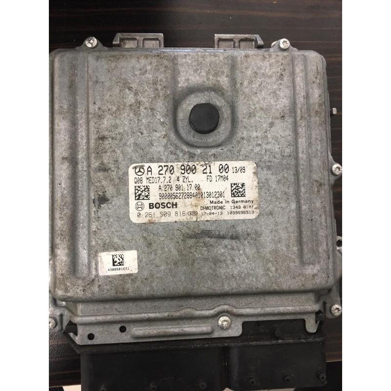 Mercedes Cla Motor Beyini - A2709002100 - MED17.7.2  - A2709011700 - 0261S09816