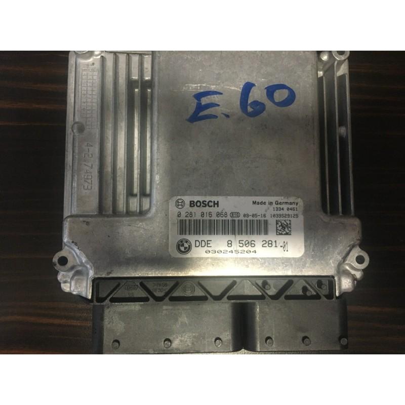 Bmw E60 Motor Beyini - 0218016068 - DDE8506281
