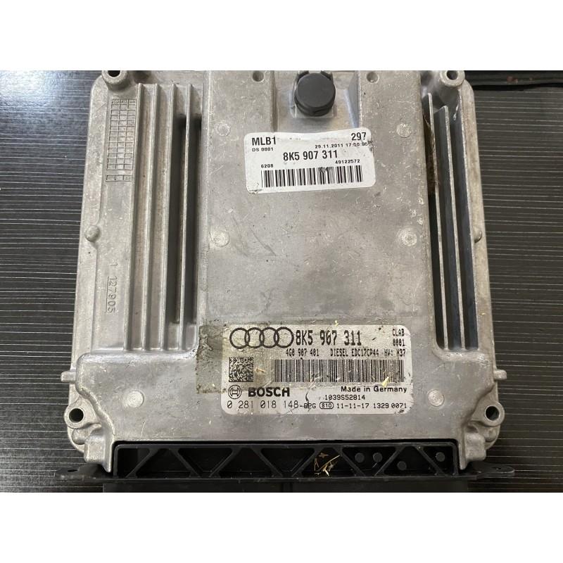 Audi A5 Motor Beyini - 0281018148 - 8K5907311 - EDC17CP44