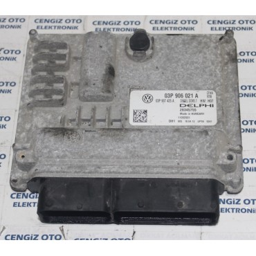 Volkswagen Polo Motor Beyini - 03P 906 021 A - 03P906021A - 28345755
