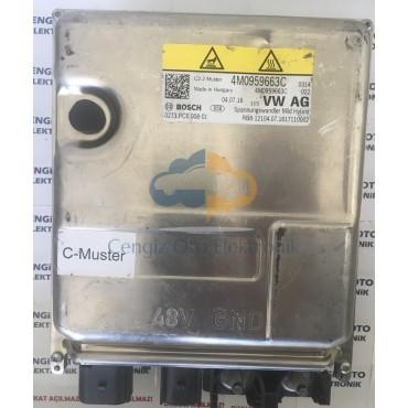 Audi A7 Voltage Converter Beyini Voltaj Dönüştürücü - 4M0959663C - 0273PC0008-01