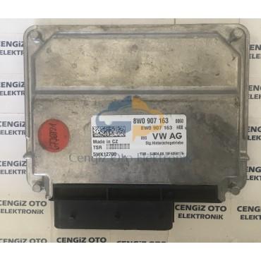 Audi Kontrol Modülü - 8W0907163 - 5WK12700