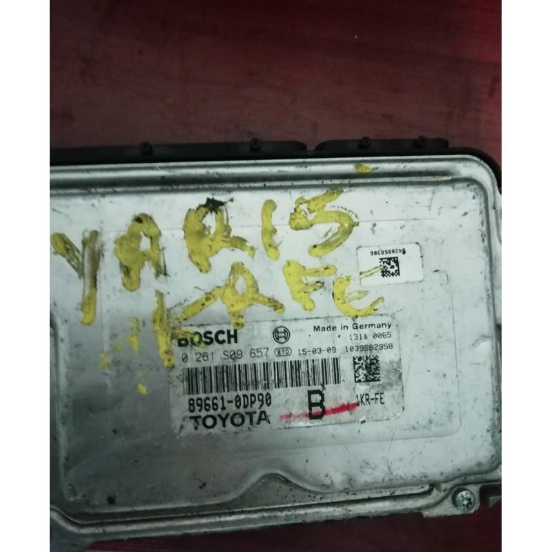 Toyota Yaris Motor Beyini - 0261S09657 - 89661 0DP90