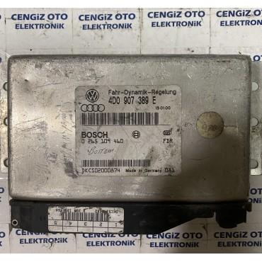 Volkswagen - Audi A8 Kontrol Beyini - 4D0 907 389 E - 4D0907389E - 0265109460 - 0 265 109 460