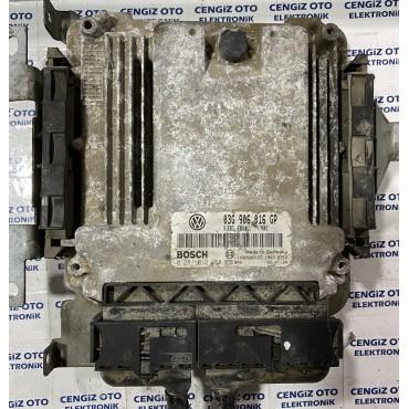 Volkswagen Caddy Motor Beyini - 0281012168 - 0 281 012 168 - 03G 906 016 GP - 03G906016GP