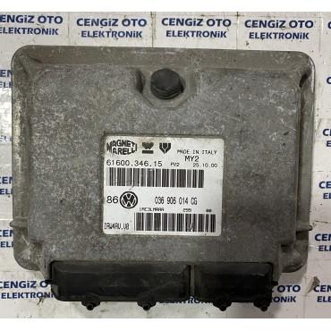 Volkswagen Gold 4 1.4  Motor Beyini - 036906014CG - 036 906 014 CG