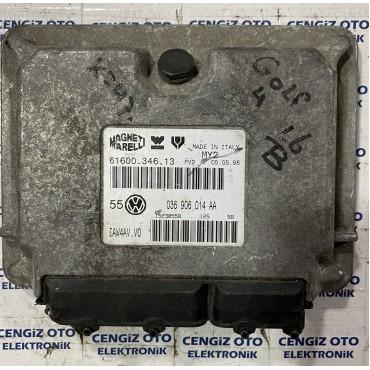 Volkswagen Golf 1.4 Motor Beyini - 036 906 014 AA - 036906014AA