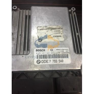 BMW E46 3.30D MOTOR BEYİNİ - 0281011223 - DDE7793540