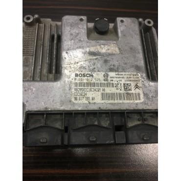 Peugeot 206 1.4 Motor Beyini - 0281012525 - 9661728580 - EDC16C34