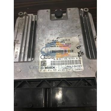 Audi A4 Motor Beyini - 0281014595 - 03L906022B - EDC17CP14