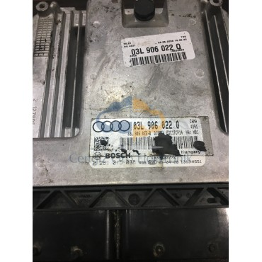 Audi Q5 2.0 Motor Beyini - 0281015038 - 03L906022Q