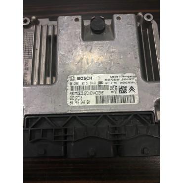 Citroen C3 1.4 Motor Beyini - 0281015849 - 9674254080 - EDC17C10