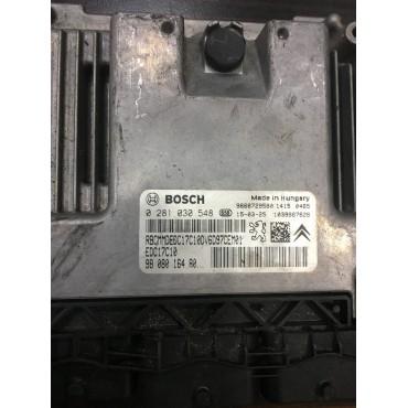 Citroen Motor Beyini - EDC17C10 - 0281030548 - 9608016480