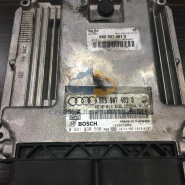 Audi Q5 Motor Beyini - 0281030580 - 8K5907401Q - 4G0907401E - EDC17CP44